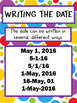 Months of the Year Anchor Chart