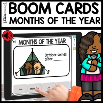 Months of the Year BOOM CARDS