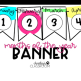 Months of the Year Pendant Banner