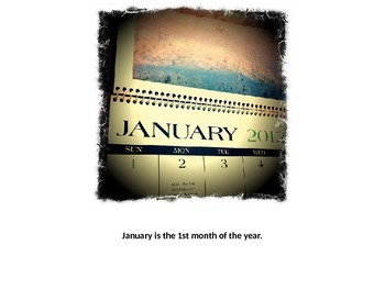 Months of the Year Book - Australia