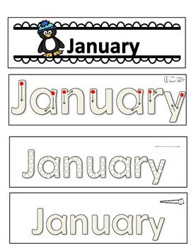 Months of the Year Booklets