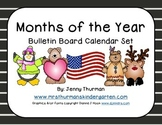 Months of the Year Bulletin Board Calendar Set