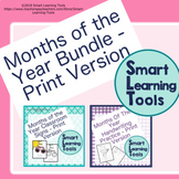 Months of the Year Bundle - Print Version