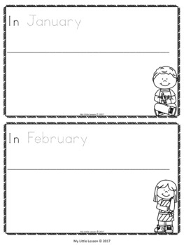 Months of the Year Bundle: Worksheets, Posters, Concept Book