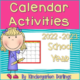 Months of the Year: Calendar Activities and Literacy Centers