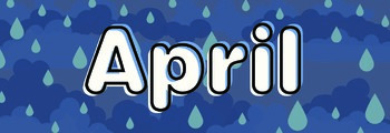 Months of the Year Calendar / Bulletin Board Headers - English TITLE CASE