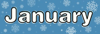 Months of the Year Calendar / Bulletin Board Headers - Eng