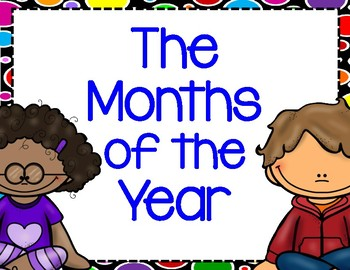 Months of the Year Calendar Cards with Ordinal Numbers