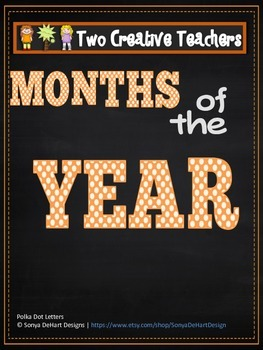 Months of the Year Circus Theme 2