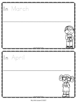 Months of the Year Concept Book