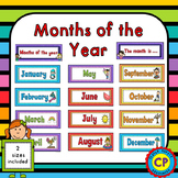 Months of the Year Display Cards
