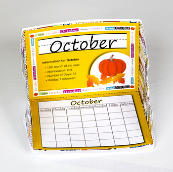 Months of the Year Display Case: October