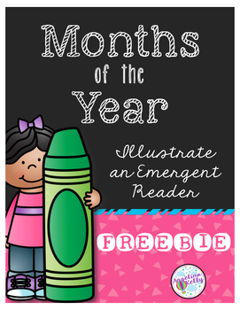 Months of the Year Emergent Reader