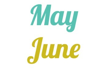 Months of the Year - FREE Colorful Calendar Headings