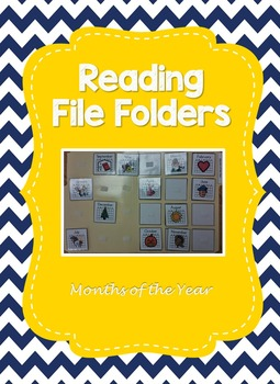 Months of the Year File Folder