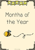 Months of the Year - Flower Theme