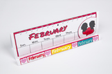 Months of the Year GrandStand: February