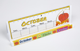 Months of the Year GrandStand: October