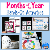 Months of the Year Activities & Worksheets