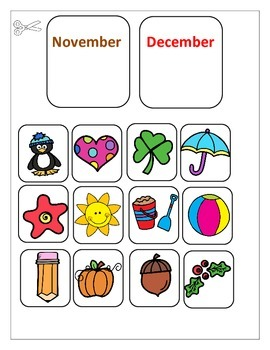Months of the Year Lapbook
