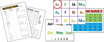 Months of the Year Lesson