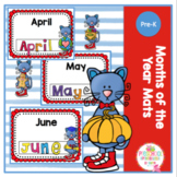 Months of the Year Mats