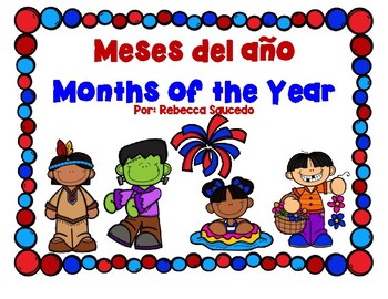 Months of the Year Meses del Año