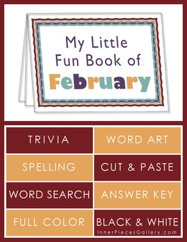 My Little Fun Book of February Helps Reinforce the Months of the Year