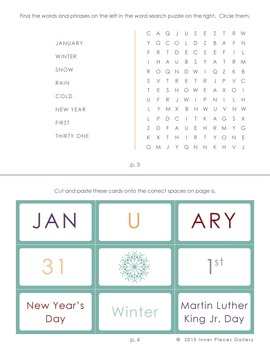 My Little Fun Book of January Helps Reinforce the Months of the Year