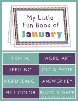 My Little Fun Book of January Helps Reinforce the Months o