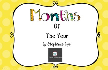 Months of the Year Mini Posters