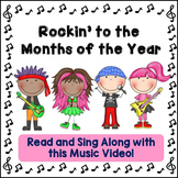 """Months of the Year Song: """"Rockin' to the Months of the Yea"""