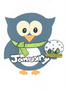 Months of the Year Owls