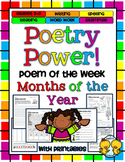 Poem of the Week: Months of the Year Poetry Power!