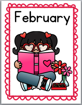 Months of the Year Labels - Posters & Word Wall – Monthly Themed Reading Kids
