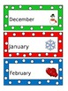 Months of the Year-Primary Colors Polka Dots
