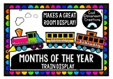 Months of the Year- Printable Train Display