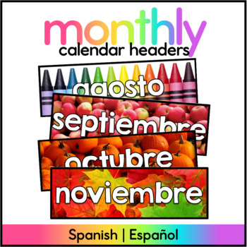 Months of the Year - Real Photo - Spanish