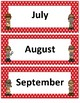 Months of the Year~ Red Polka Dot Detective