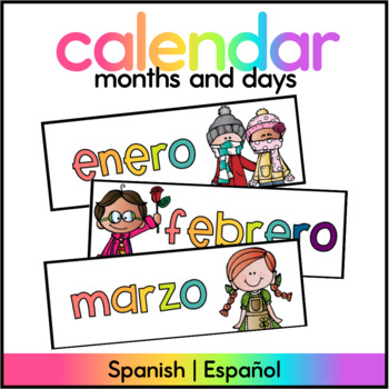 Months of the Year SPANISH