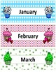 Months of the Year~ Seasonal Cupcake