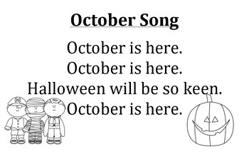 Months of the Year Songs August-May