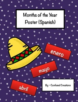 Months of the Year (Spanish)