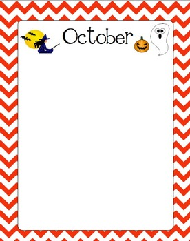 Months of the Year Stationary