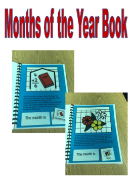 Months of the Year Storybook