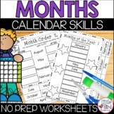 Months of the Year Worksheets   Month Sequencing Activities