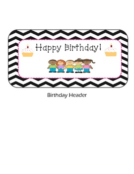 Months of the Year for Students Birthday's