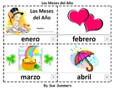 Months of the Year in Spanish 2 Booklets - Los Meses del Año