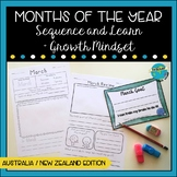 Months of the Year with Growth Mindset - btsdownunder
