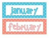 Months of the Year_Polka Dot